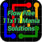 Flow 11×11 Mania Solutions