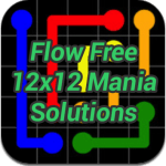 Flow 12×12 Mania Solutions