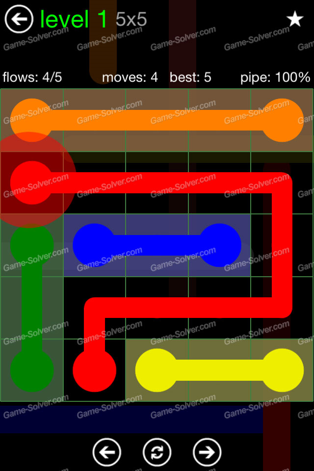 Flow Green Pack 5x5 Level 1