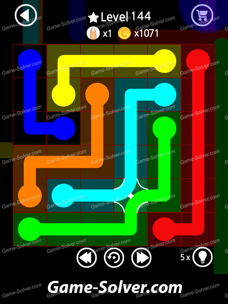 Flow Line Bend Strawberry Pack Level 144