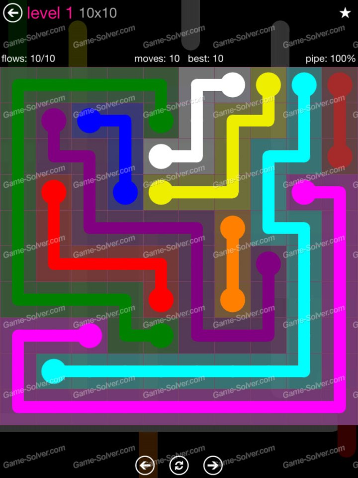 Flow Pink Pack 10x10 Level 1