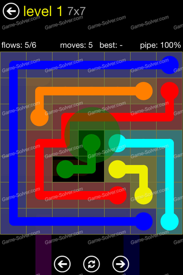 Flow Regular Pack 7x7 Level 1