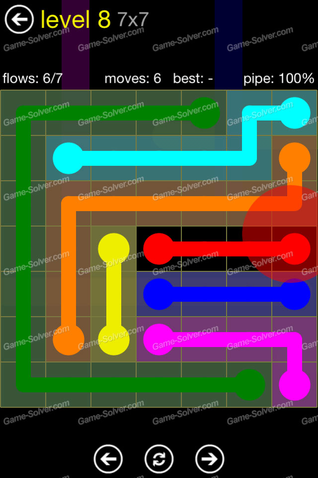 Flow Regular Pack 7x7 Level 8