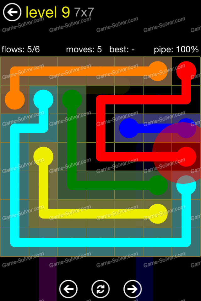 Flow Regular Pack 7x7 Level 9