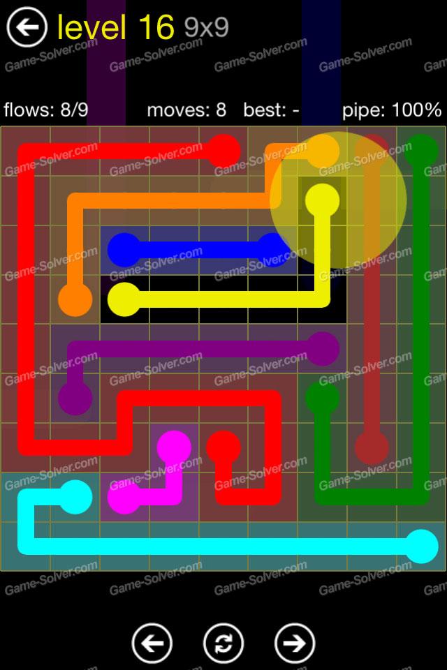 Flow Regular Pack 9x9 Level 16