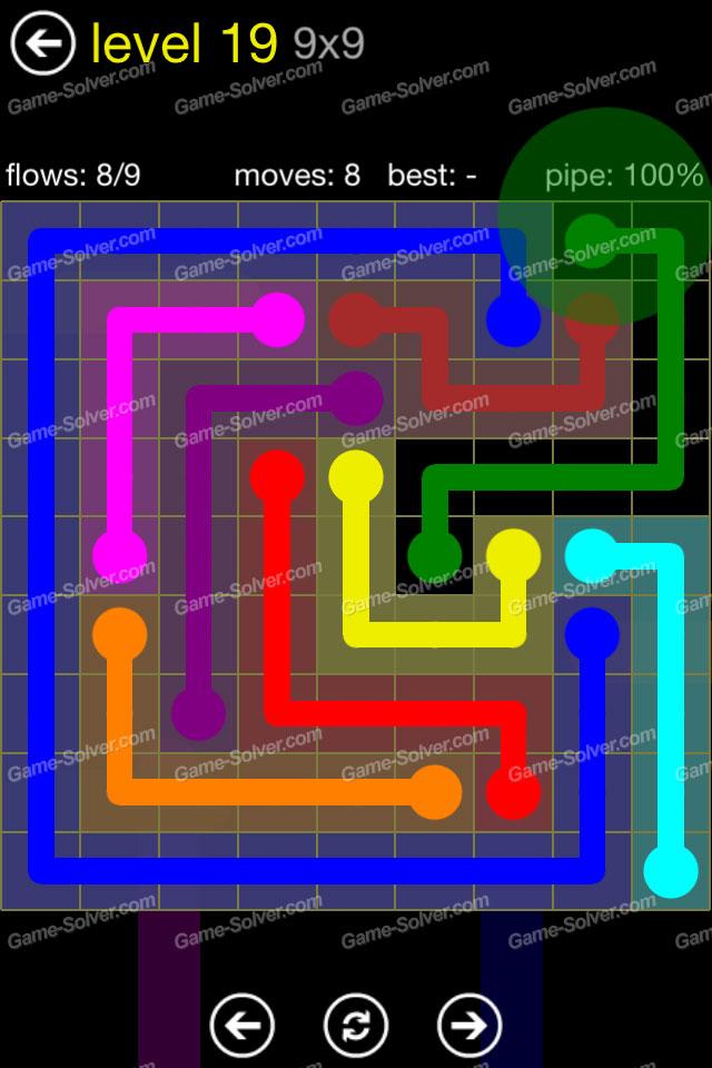 Flow Regular Pack 9x9 Level 19