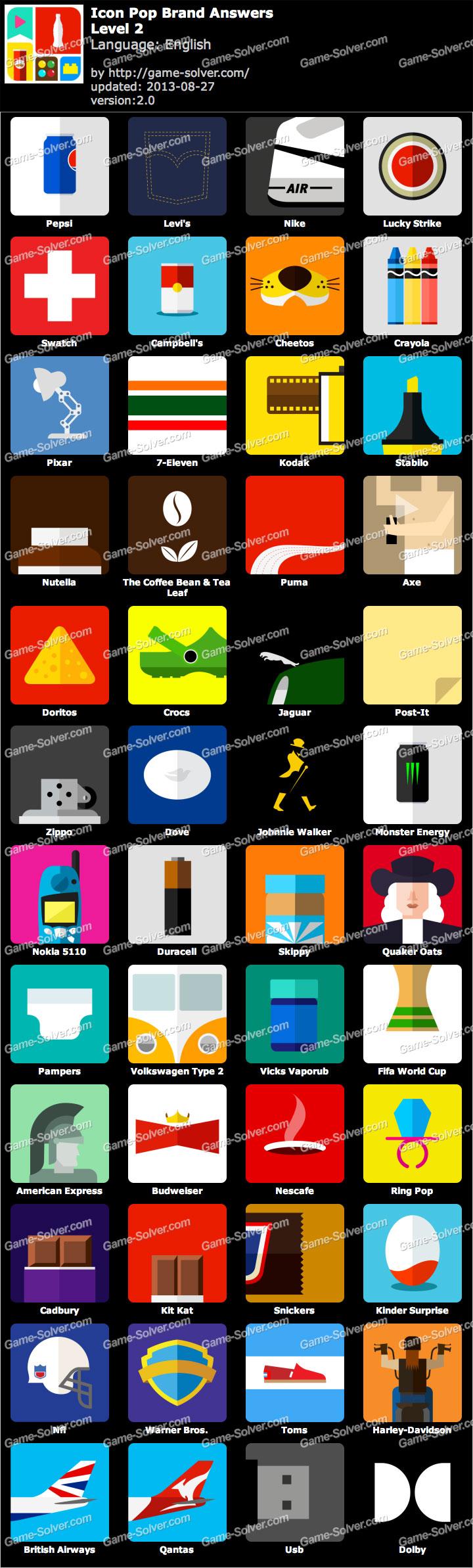 Icon Pop Brand Level 2