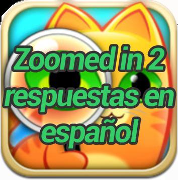 zoomed in 2 respuestas en español