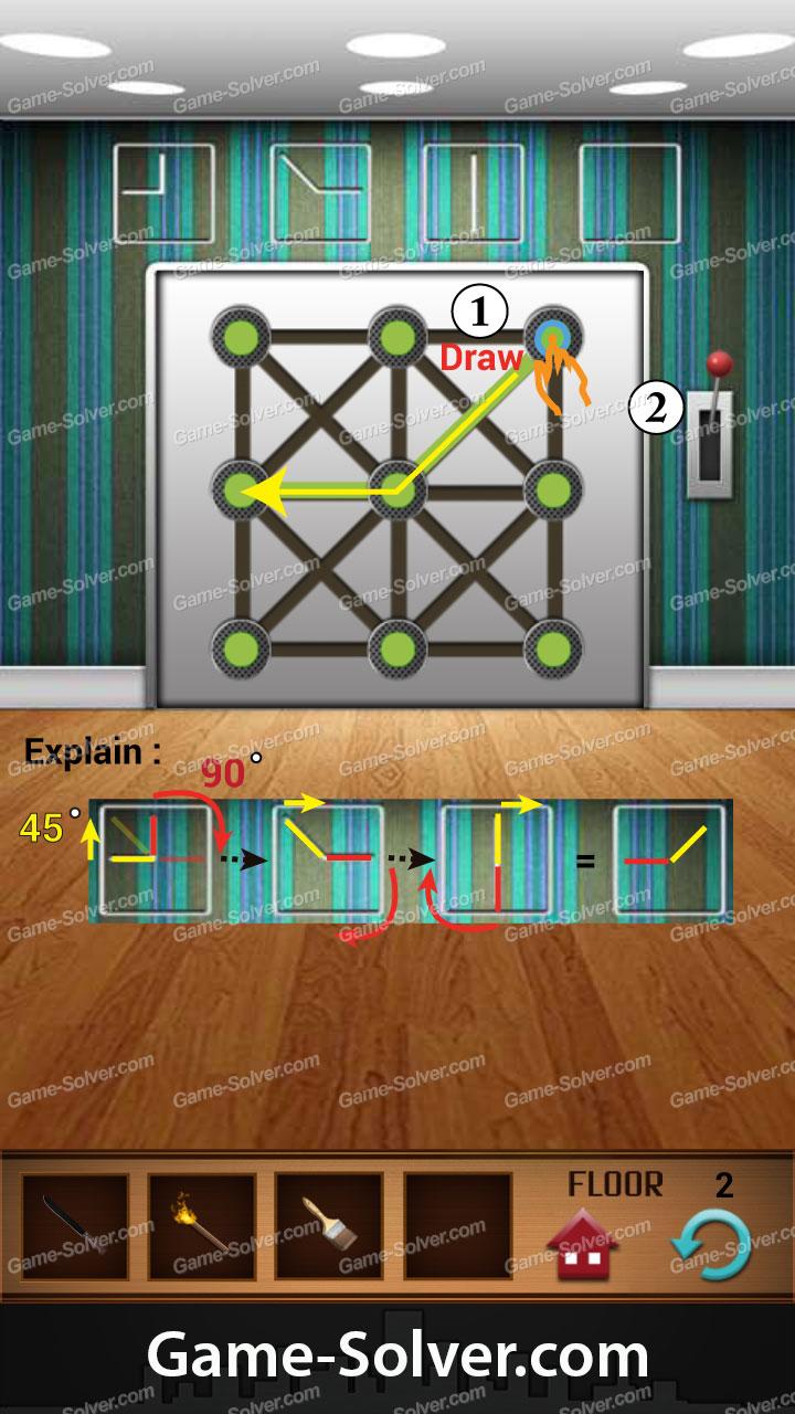 100 Floors Annex Level 2 Game Solver