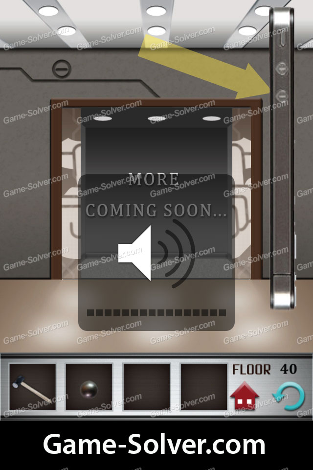 100 Floors Level 40 Game Solver
