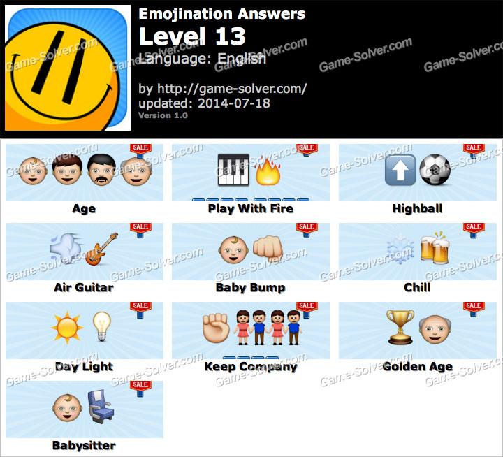 Emojination Level 13