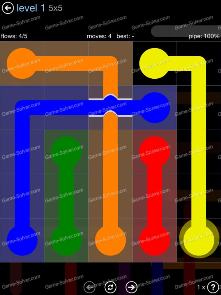 Flow Bridges Rainbow Pack Level 1