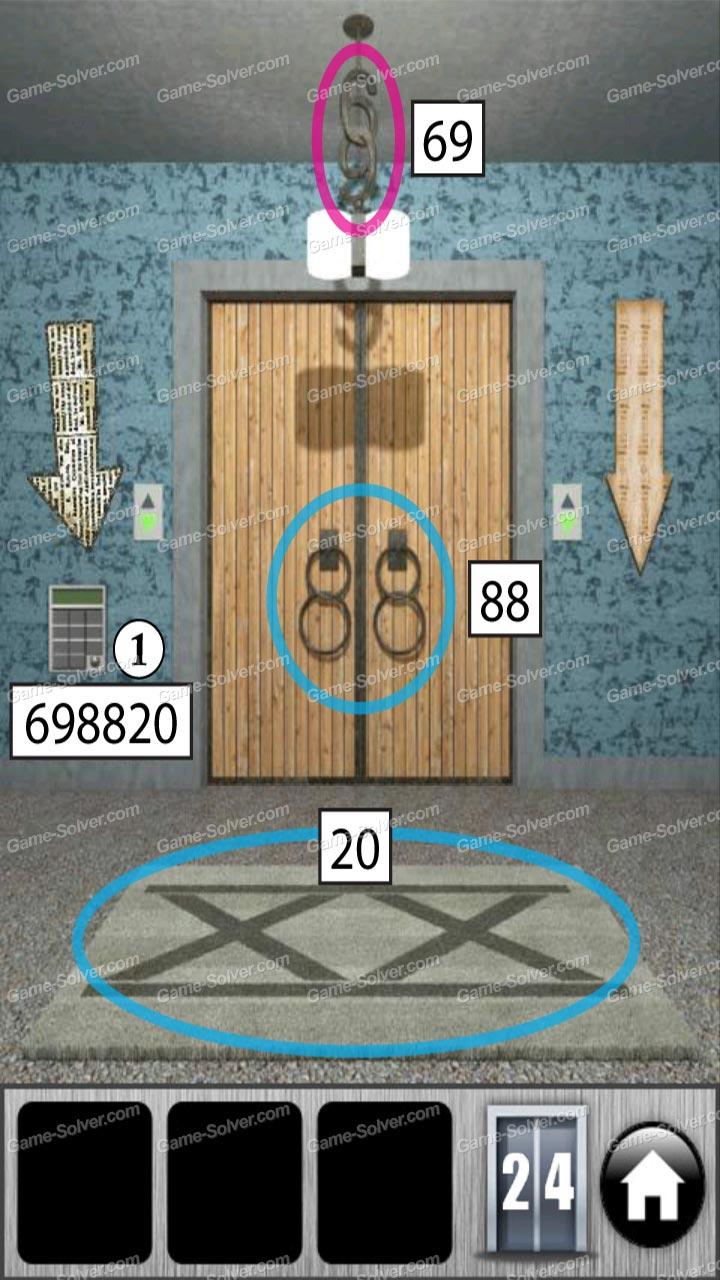 100 Doors Of Revenge Level 24 Game Solver