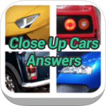 Close Up Cars Answers