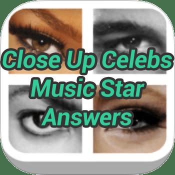 Close Up Celebs Music Star Answers