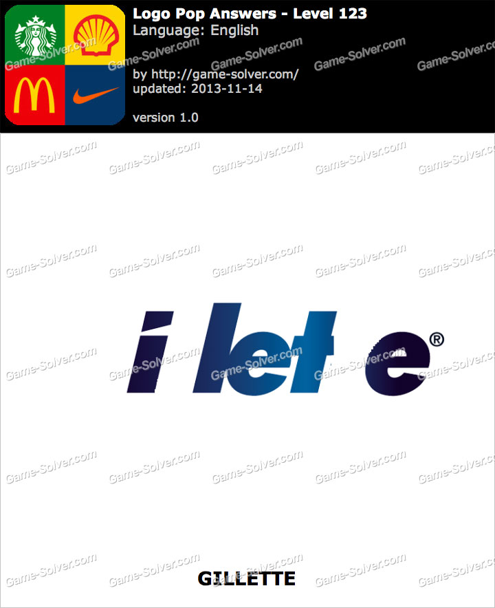 Logo Pop Level 123