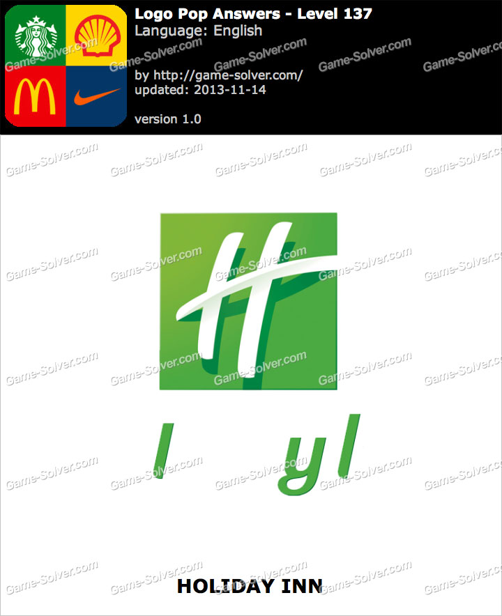 Logo Pop Level 137