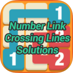 Number Link Crossing Lines Pack Solutions
