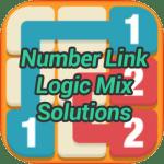 Number Link Logic Mix Pack Solutions