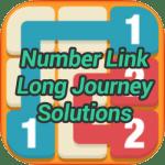 Number Link Long Journey Pack Solutions