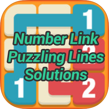 Number Link Puzzling Lines Pack Solutions