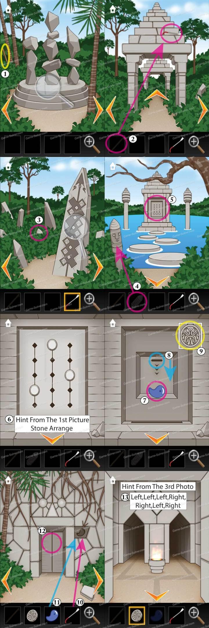 Ruins Escape Game Level 1