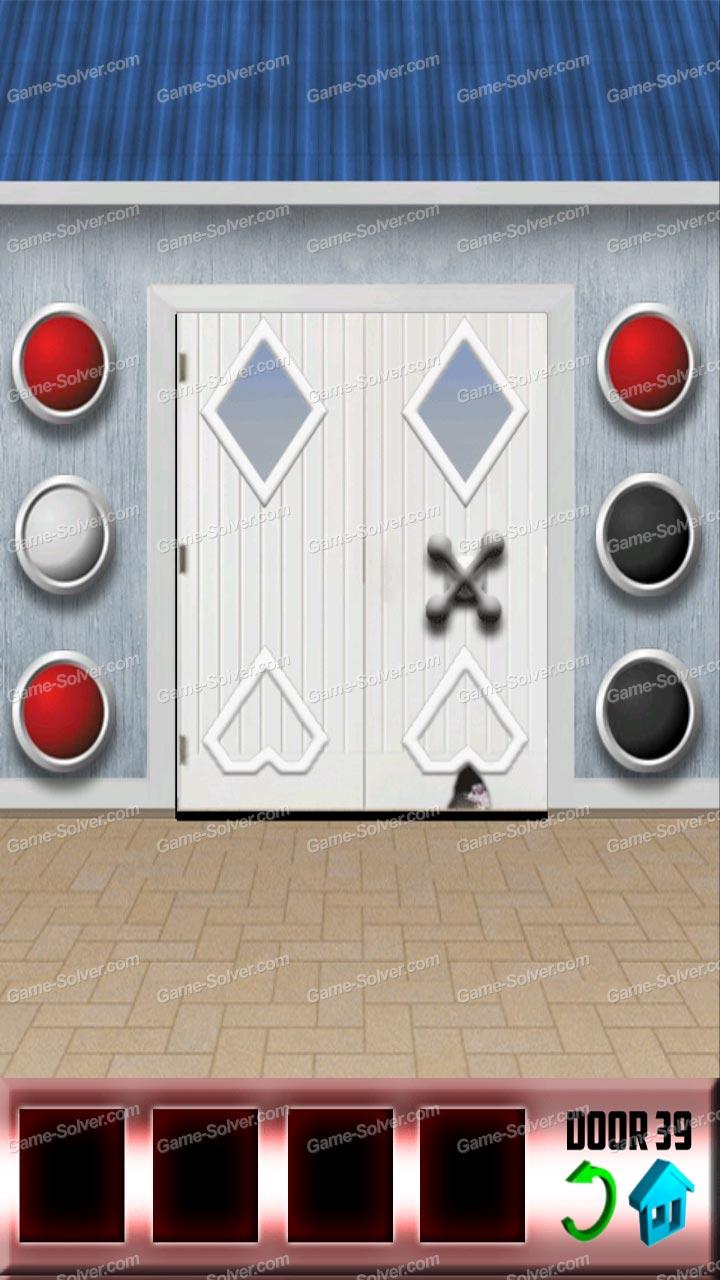 100 Doors Level 39 Game Solver