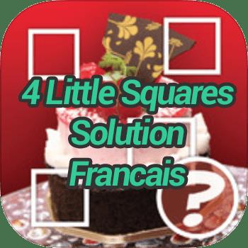 4 Little Squares Solution Francais