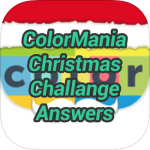 Colormania Christmas Challenge Answers