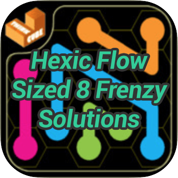 Hexic Flow Sized 8 Frenzy Solutions