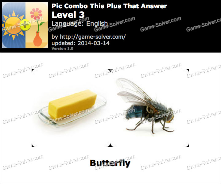 Pic Combo This Plus That Level 3
