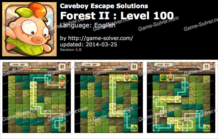 Caveboy Escape Forest II Level 100