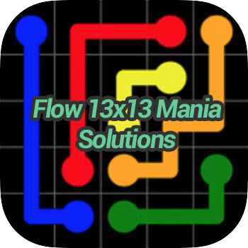 Flow 13x13 Mania Solutions