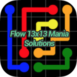 Flow 13×13 Mania Solutions