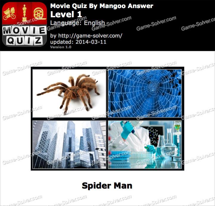 Movie Quiz Mangoo Level 1