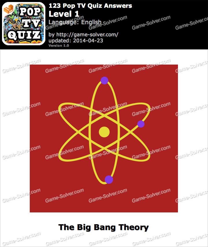 123 Pop TV Quiz Level 1