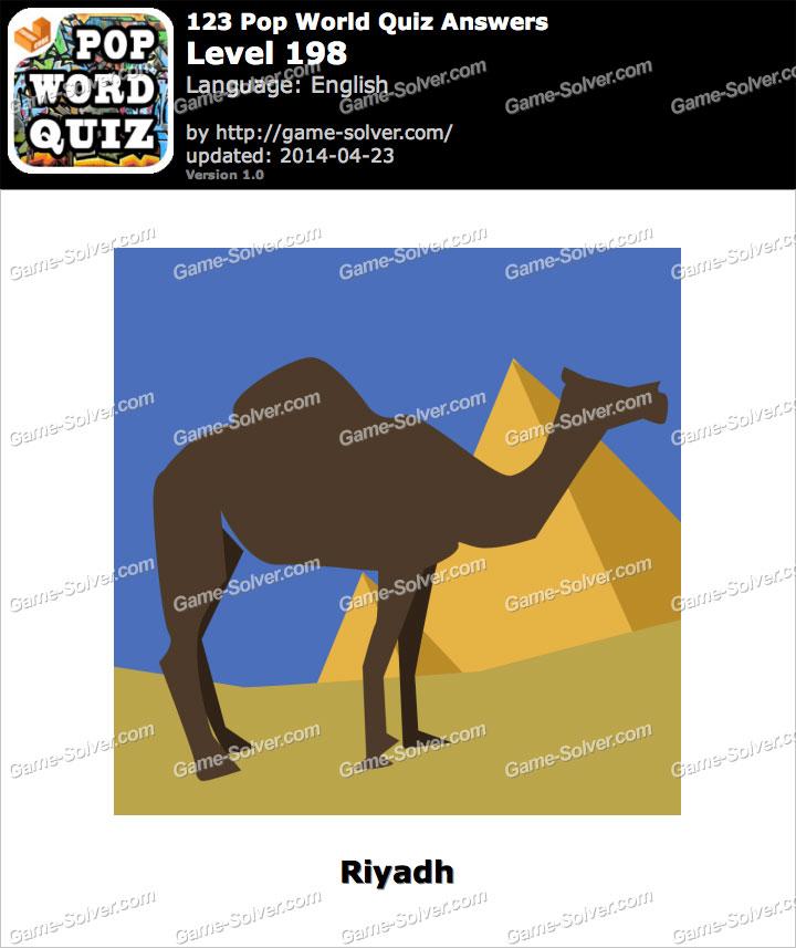 123 Pop World Quiz Level 198
