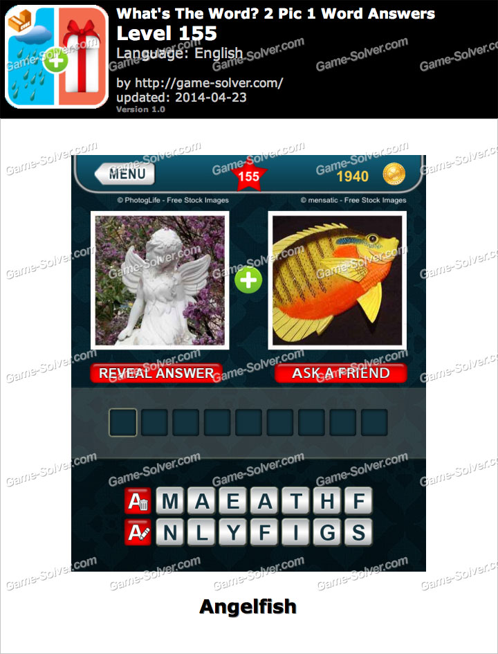 What's The Word 2 Pic 1 Word Level 155
