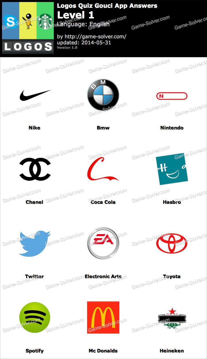 Logos Quiz Gouci App Level 1