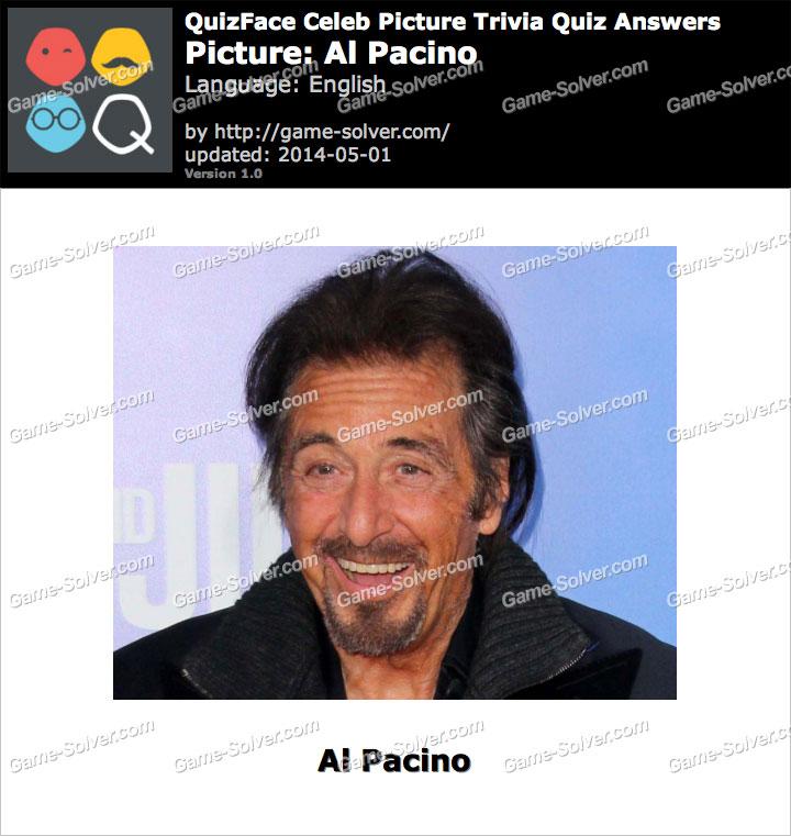 QuizFace Level Al Pacino