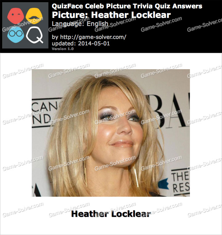 QuizFace Level Heather Locklear