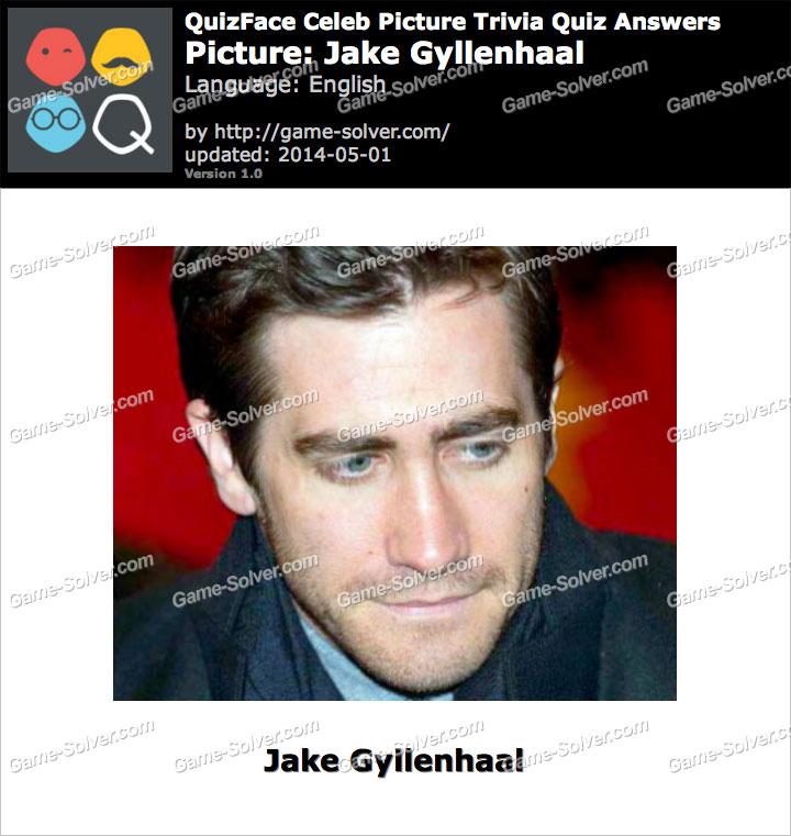 QuizFace Level Jake Gyllenhaal