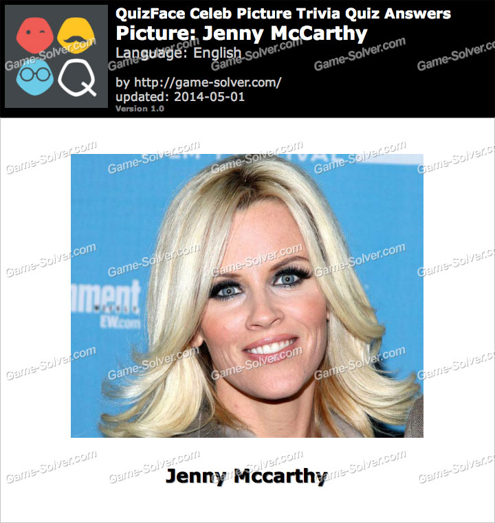 QuizFace Level Jenny McCarthy