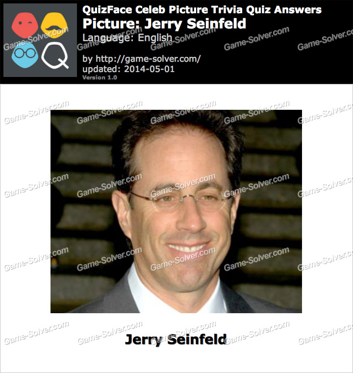 QuizFace Level Jerry Seinfeld