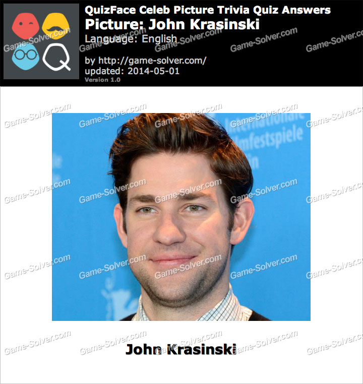 QuizFace Level John Krasinski