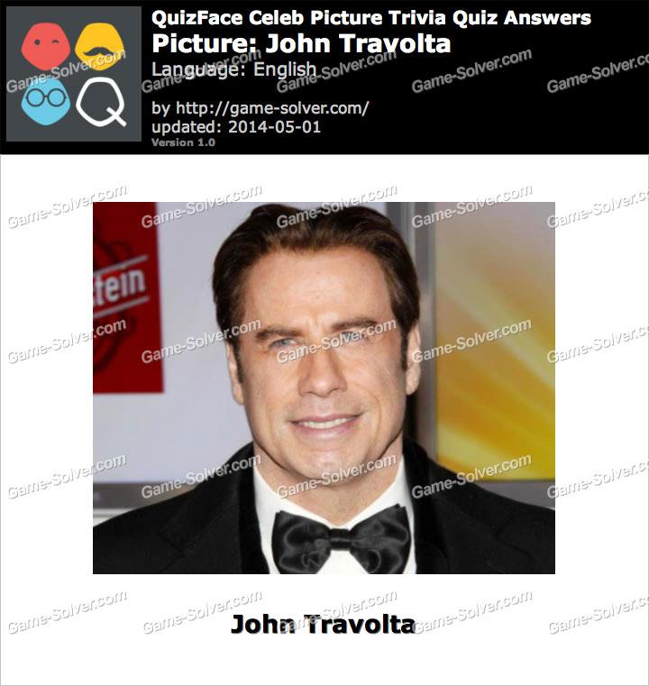 QuizFace Level John Travolta