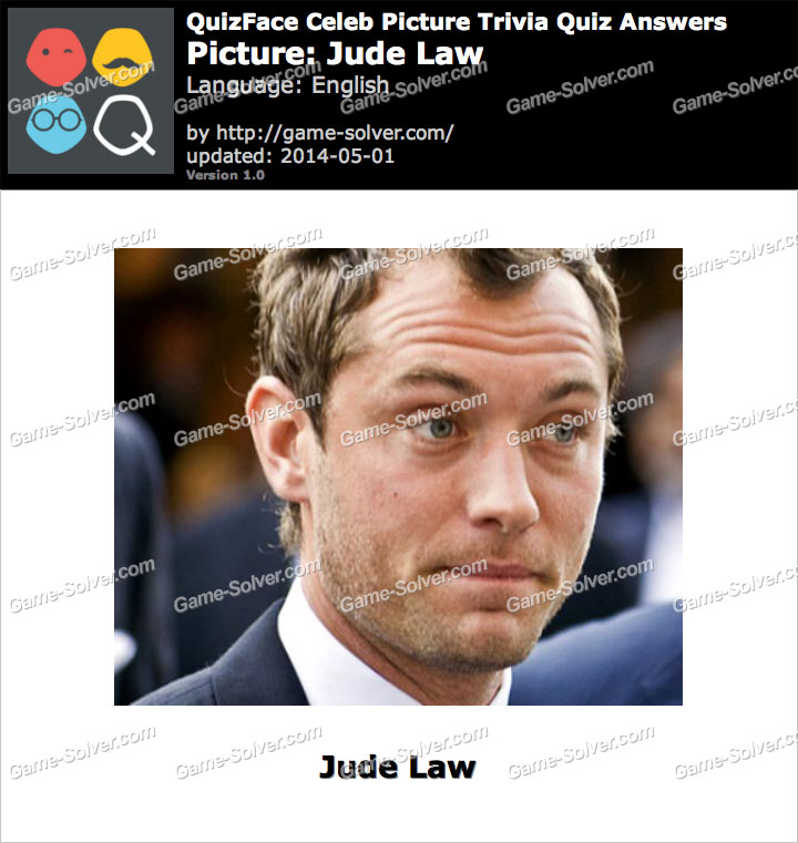 QuizFace Level Jude Law