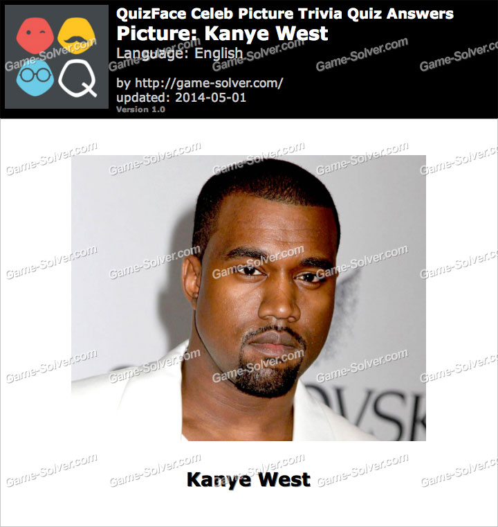 QuizFace Level Kanye West