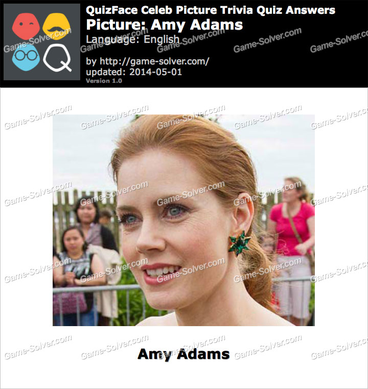 QuizFace Level Amy Adams