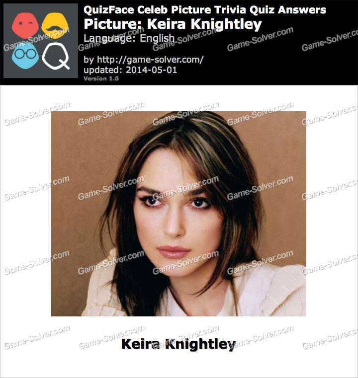 QuizFace Level Keira Knightley